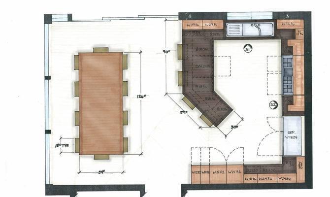 Small Kitchen Floor Plans Galley Interior Beauty