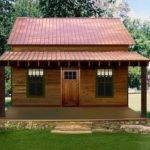 Small Lake Cabin Plans Plan Elevation