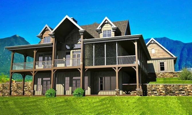 View Modern Farmhouse House Plans With Walkout Basement ...