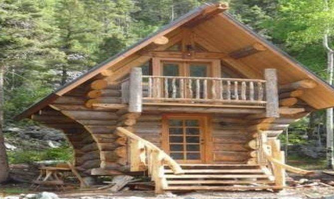Small Log Cabin Designs Little Cabins Plans Cool