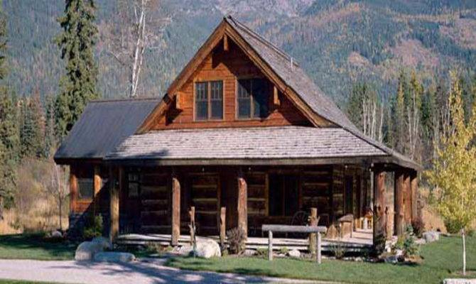 Small Log Cabin Kits Mountain Build