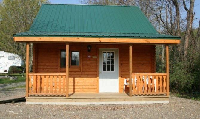 Small Log Cabin Plans Hickory Hill Conestoga