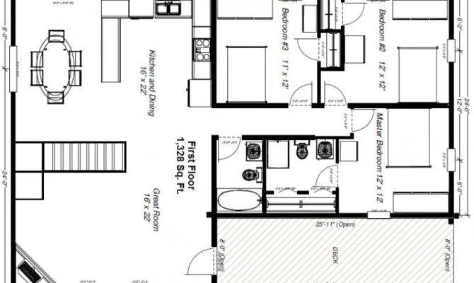 Small Log Cabins Floor Plans Design Cabin Homes