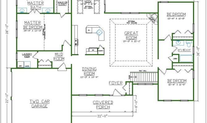 Small Master Bathroom Closet Floor Plans Wood Floors