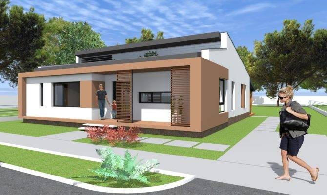 Small Modern Bungalow House Design Square Meters