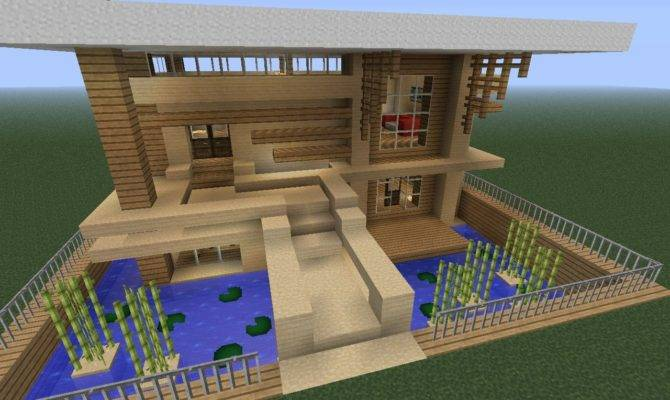 Small Modern Home Minecraft Project Home Plans Blueprints 3403