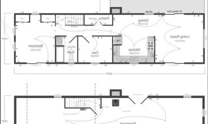 Small Modern House Plans Single Story Home Deco