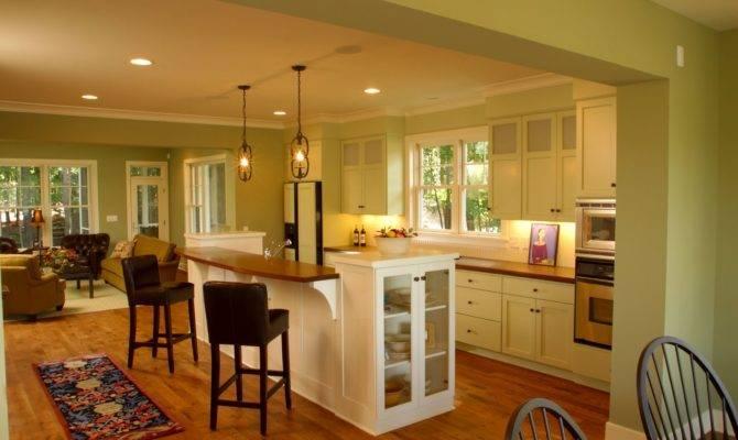 Small Open Kitchen Design Ideas Antique Pendant Lamps