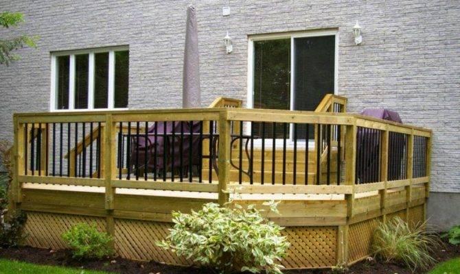 Small Patio Decks Backyard Deck Design Ideas Home Plans