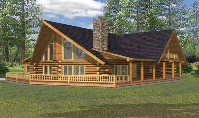Small Porch Designs Rustic Log Cabin Home Plans