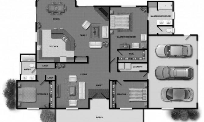 Small Rectangular House Floor Plans Design Luxury Home