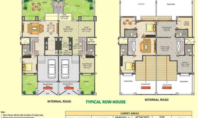 Small Row House Plans Joy Studio Design Best