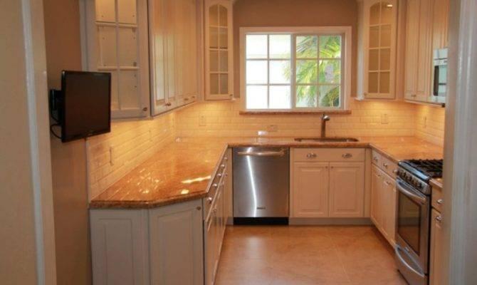 Small Shaped Kitchen Floor Plans Design Decoration