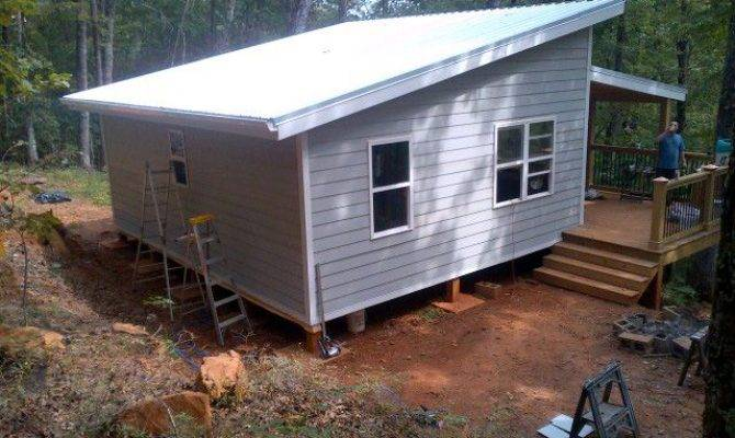 Small Shed Roof Home Plans