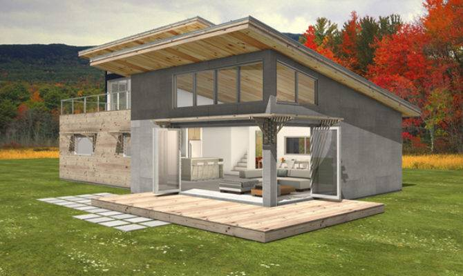 Small Shed Roof House Plans Tsp
