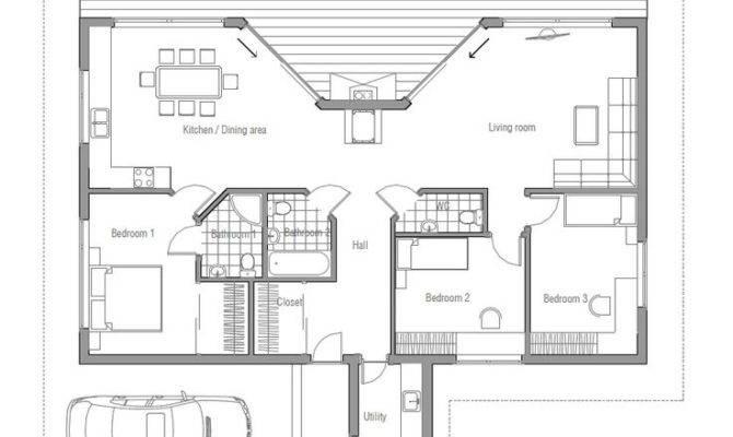 Small Simple House Plan Pole Barn Plans Pinterest