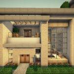 Small Simple Modern House Wok Server Minecraft Project