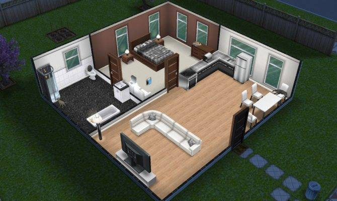 Small Simple Sims Freeplay House Pinterest