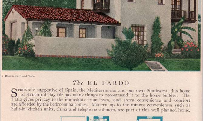 Small Spanish Style Home Floor Plans