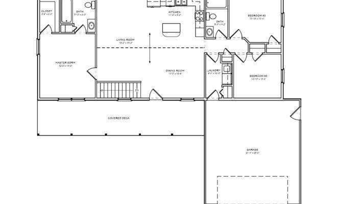Small Split Bedroom Greatroom House Plan Houseplan Great