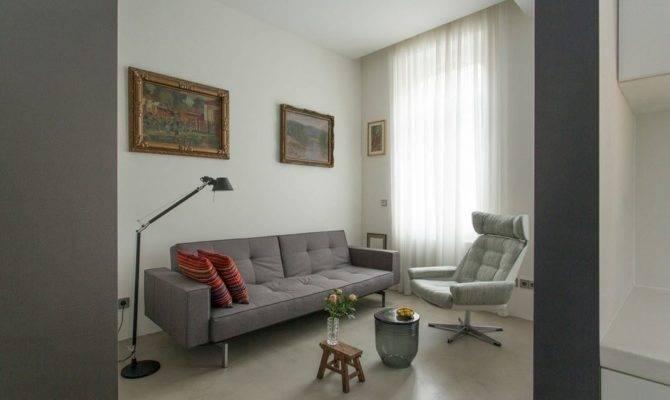 Small Square Feet German Apartment Interior Design Ideas