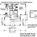 Small Stone Craftsman Bungalow House Plan Chp Ams