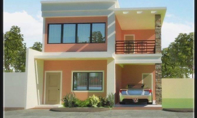 Small Storey Modern House Designs Floor Plans