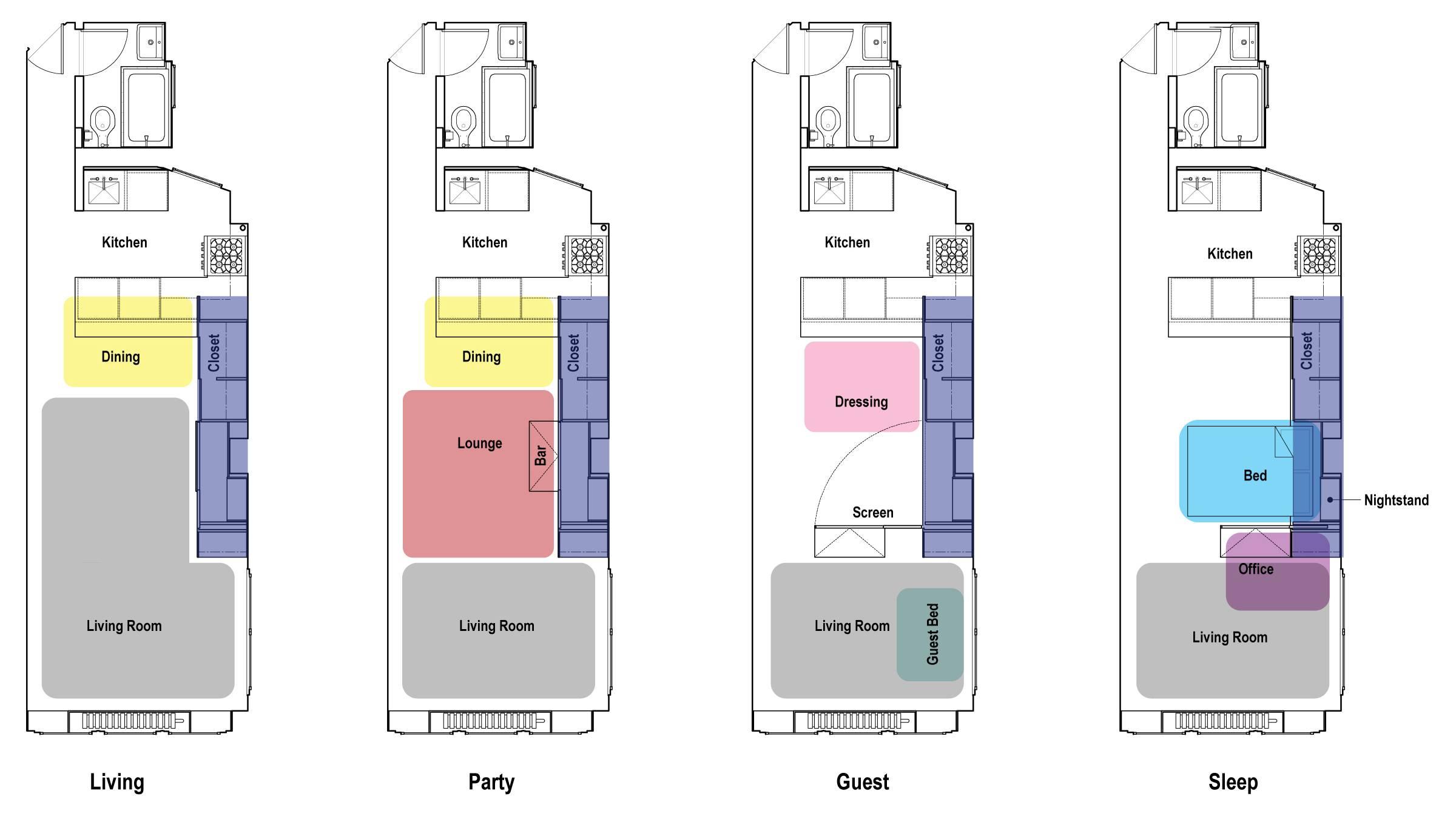 Small Studio Apartment Floor Plans Home Plans Blueprints 31499