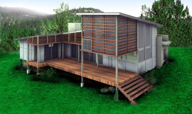 Small Sustainable Home Design Ideas Porch Mobile Homes