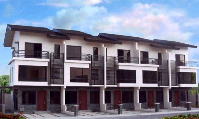 Small Townhouse Design Philippines Youtube