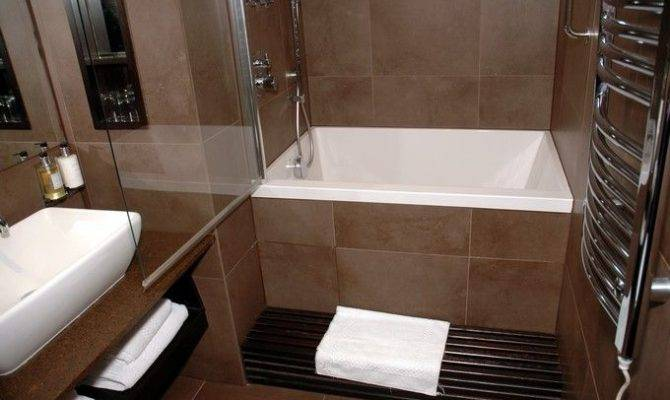 Small Tubs Shower Combo Deep Soaking Tub Freestanding Bathroom