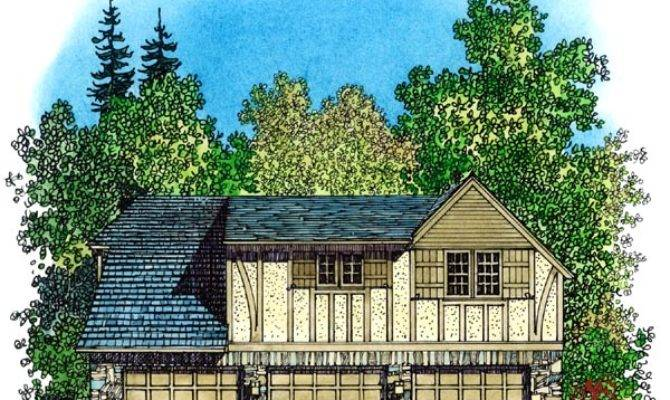 Small Tudor House Plans Cottage