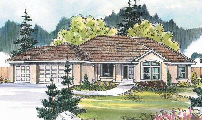 Small Tuscan House Plans Designs Style