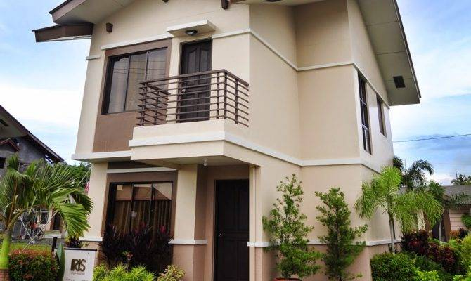 Small Two Story House Design Home Exterior