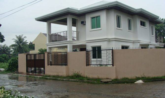 Small Two Story House Plans Philippines Iloilo Simple Design