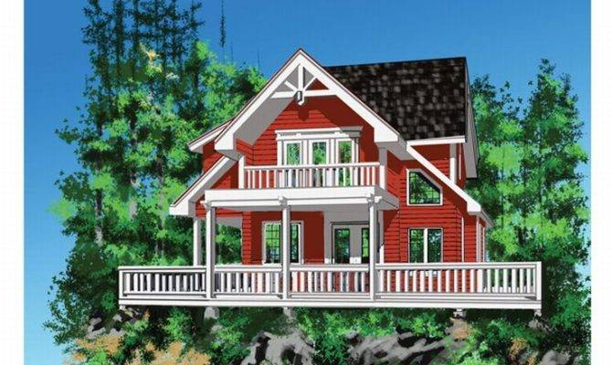 Small Vacation Home Plan Design Style