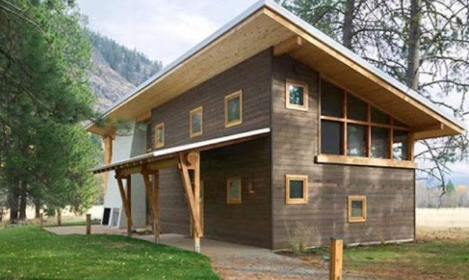 Small Wooden House Architecture Design Cabin Ideas Bookmark