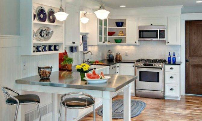 Smart Ideas Decorate Small Open Concept Kitchen