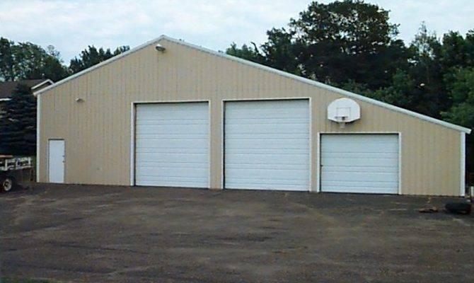 Smart Placement Big Garage Homes Ideas Home Building