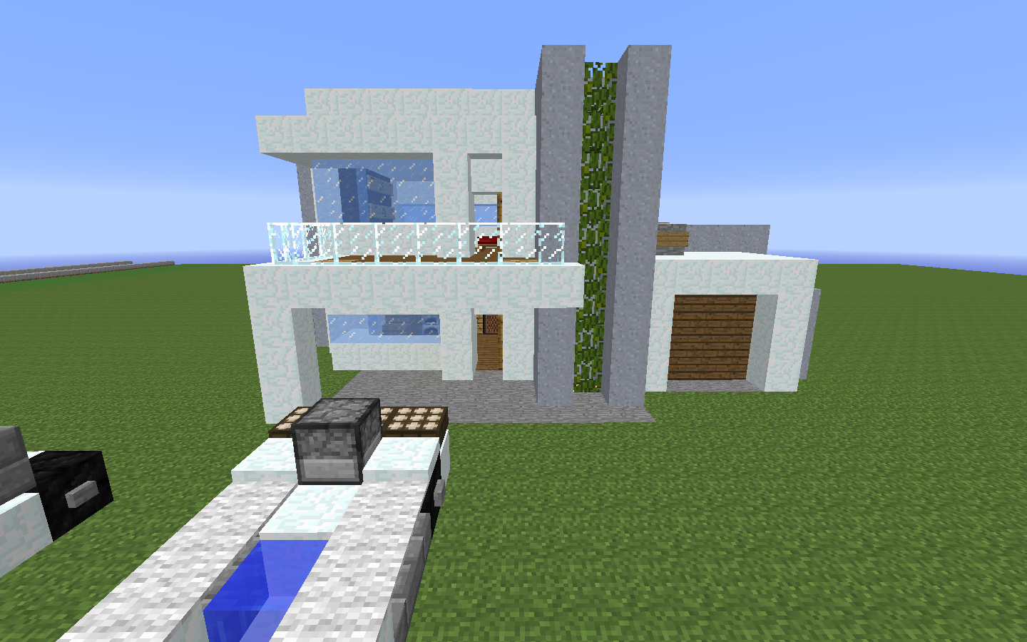 Snow Mansion Building Tutorial Minecraft Perfect Buildings Home