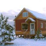 Snug Little Cabin Uses Easy Build Post Pierfoundation