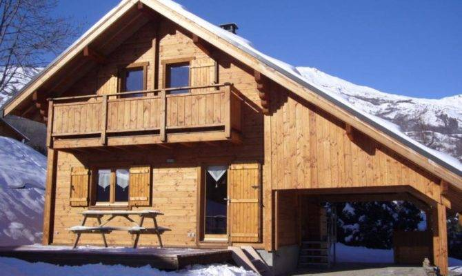Snug Ski Chalet French Alps Small House Bliss