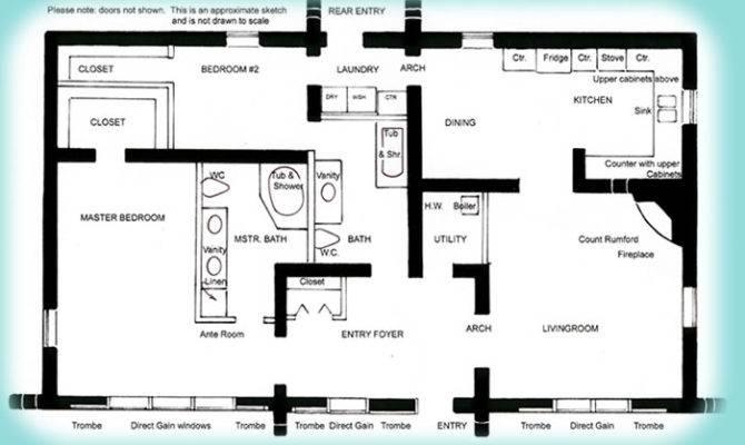 Solar Adobe House Plan Affordable Solaradobe Plans