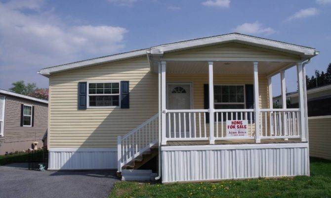 Sold Skyline Foot Porch Akron Mobile Homes