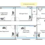 Solution Network Layout Floor Plan Shows