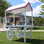 Sophie Victorian Candy Cart Garden Furniture