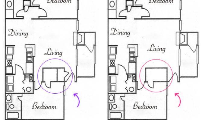 Sophisticated Closet Door Floor Plan Exterior
