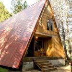 Sophisticated Frame Cabins Above Bass Lake California