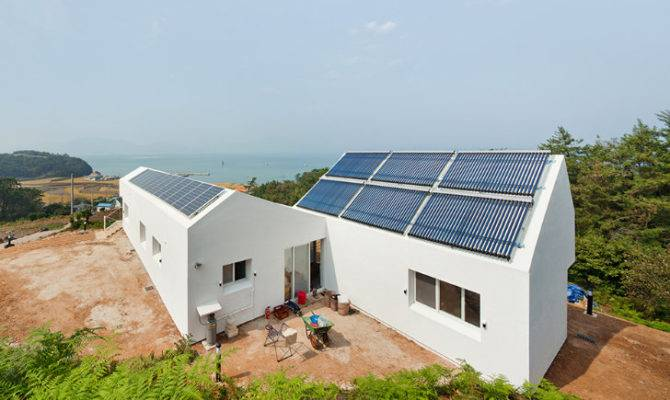 Sosoljip Self Sufficient Zero Energy House South Korea
