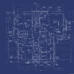 Source More Abstract House Blueprint